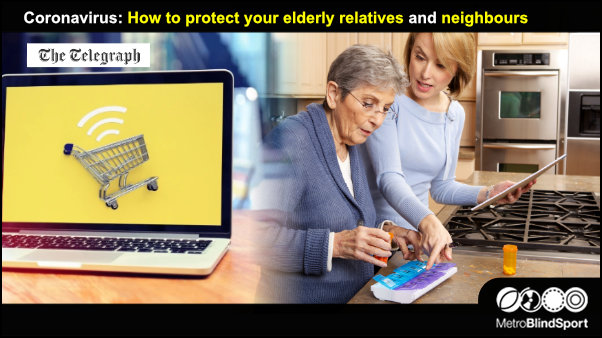 Coronavirus How to protect your elderly relatives and neighbours