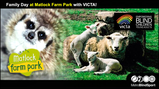 Family Day at Matlock Farm Park with VICTA