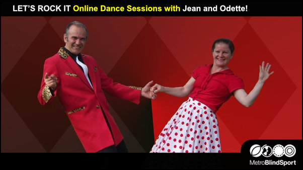 LET'S ROCK IT Online Dance Sessions with Jean and Odette