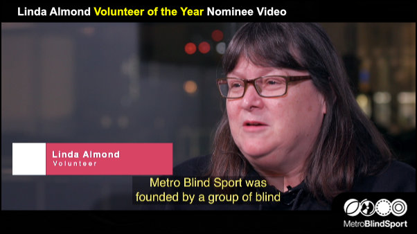 Linda Almond Volunteer of the Year Nominee Video