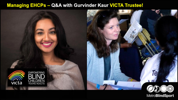 Managing EHCPs – Q&A with Gurvinder Kaur VICTA Trustee!