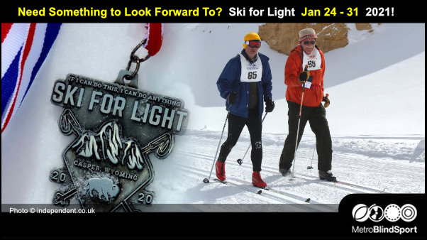 Need Something to Look Forward To? Ski for LIght Jan 24-31, 2021!