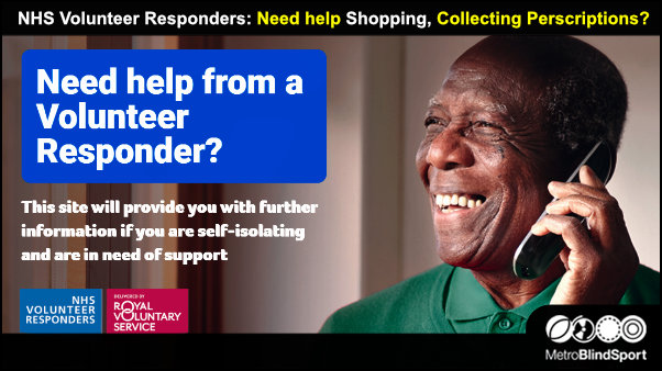 NHS Volunteer Responders: Need help Shopping, Collecting Perscriptions