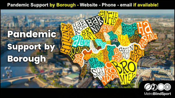 Pandemic Support by Borough - Website - Phone - email if available!