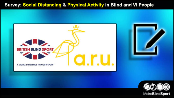 Survey: Social Distancing & Physical Activity in Blind and VI People