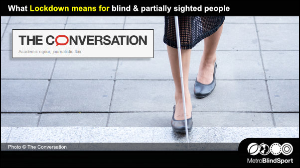 What Lockdown means for blind & partially sighted people