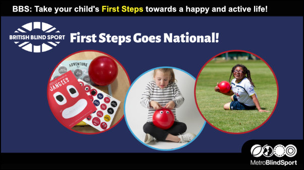 Take your child's First Steps towards a happy and active life!