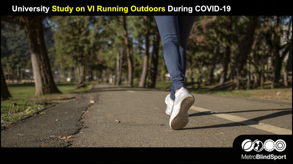 University Study on VI Running Outdoors During COVID-19