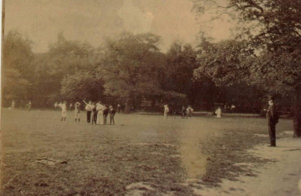 Cricket Field, Highgate Wood, 1901 From the collections and © Bruce Castle Museum (Haringey Archive and Museum Service)