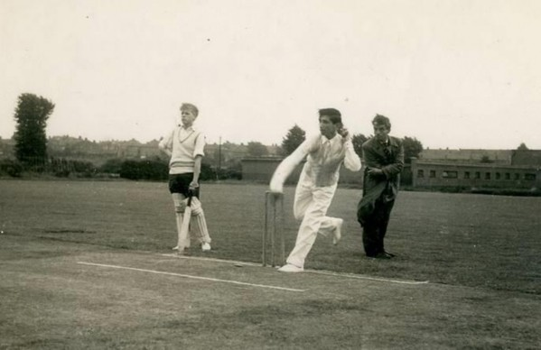Tottenham vs Enfield Schools, October 1956