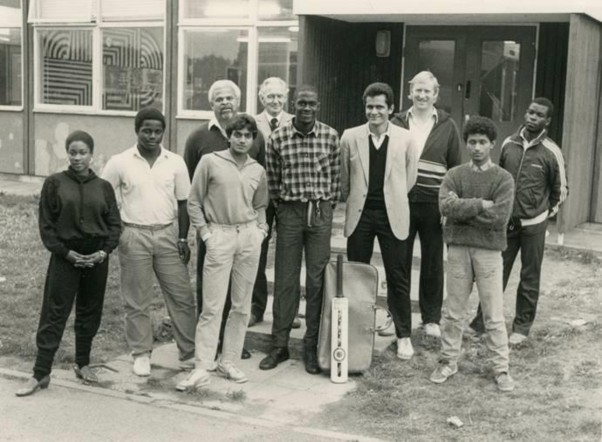 Broadwater Farm Estate Cricket Team c.1980s