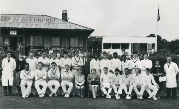 Mayor's Charity cricket match, Wood Green, 1963