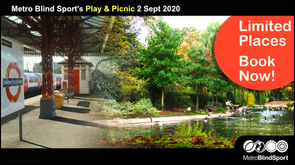 Metro Blind Sport's Play & Picnic 2 Sept 2020