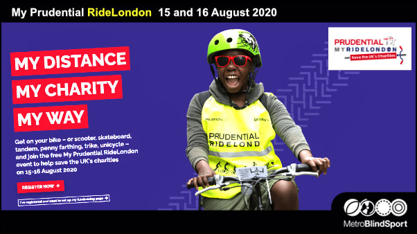 My Prudential RideLondon 15 and 16 August 2020