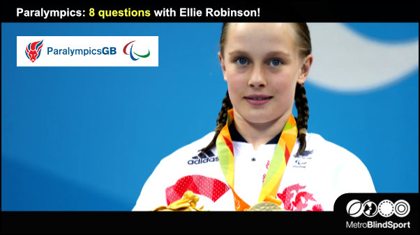 Paralympics: 8 questions with Ellie Robinson