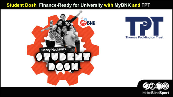 Student Dosh Finance-Ready for University with MyBNK and TPT