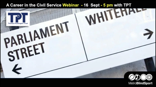 A Career in the Civil Service Webinar with TPT 16 Sept at 5pm