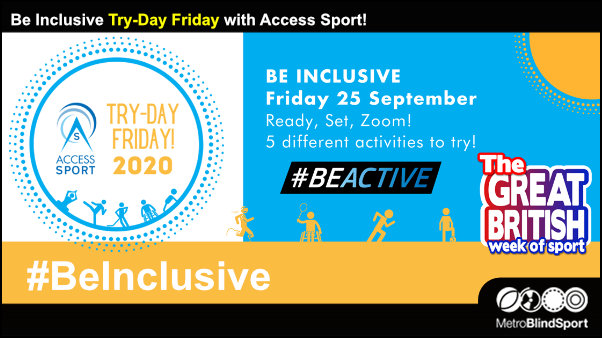 #BeInclusive Try-Day Friday with Access Sport!