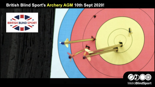 British Blind Sport's Archery AGM 10th Sept 2020