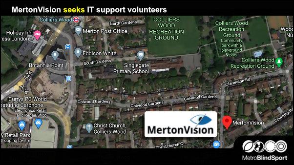 MertonVision seeks IT support volunteers