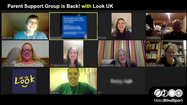 Parent Support Group is Back 25 Sept 8 pm with Look UK