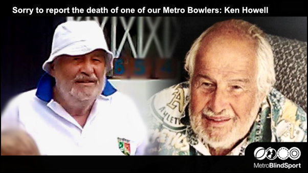 Sorry to report the death of one of our Metro Bowlers: Ken Howell