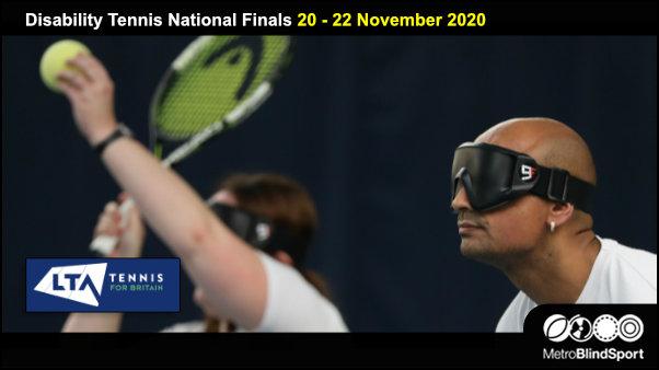 Disability Tennis National Finals 20-22 Nov 2020