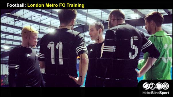 Football: London Metro FC Training