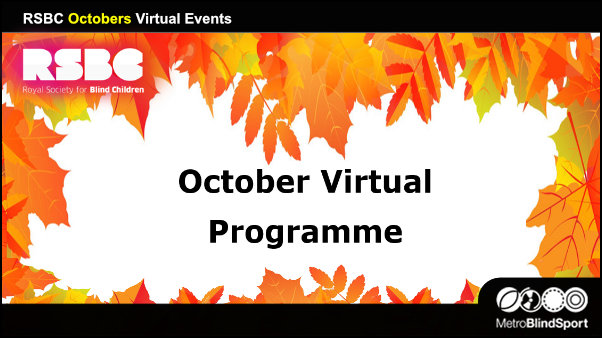 RSBC Octobers Virtual Events