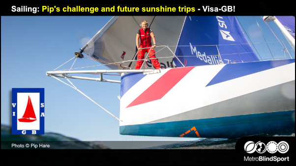 Sailing Pip's challenge and future sunshine trips - Visa-GB