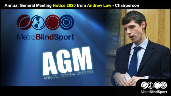 AGM Notice 2020 from Andrew Law - Chairperson