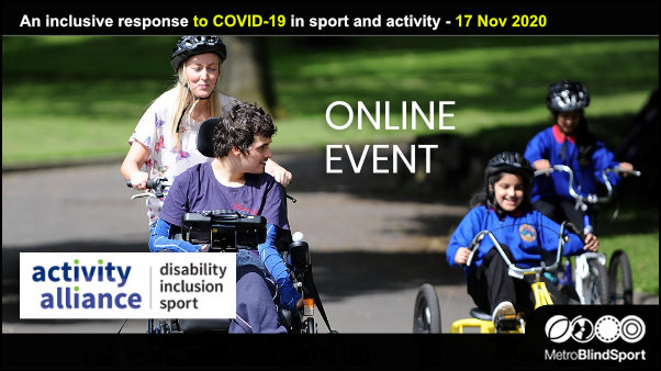 An inclusive response to COVID-19 in sport and activity - 17 Nov 2020
