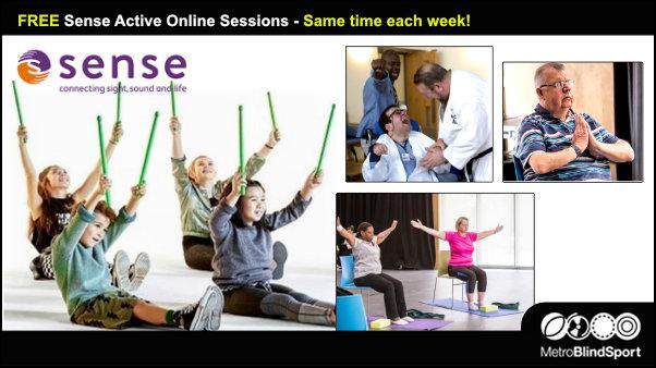 FREE Sense Active online sessions