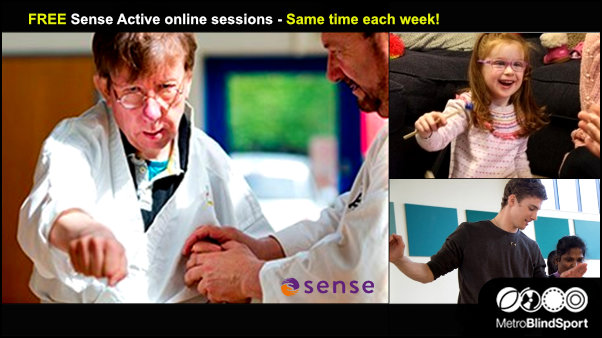 FREE Sense Active online sessions - Same time each week!