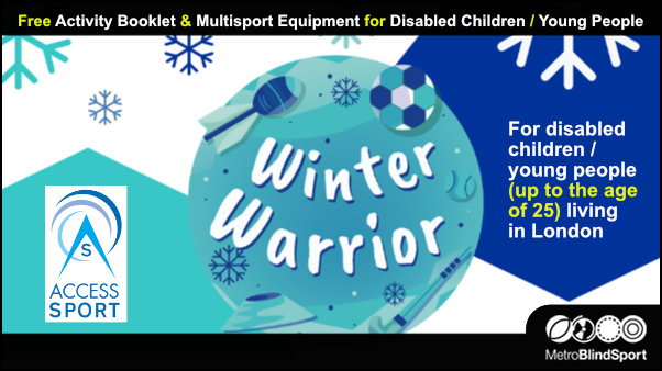 Free Multisport Equipment for Disabled Children / Young People