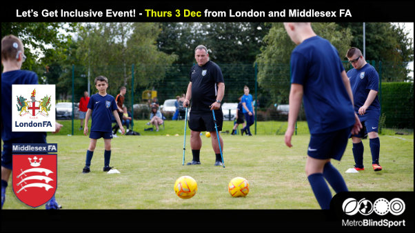 Let's Get Inclusive Event! - Thurs 3 Dec 2020
