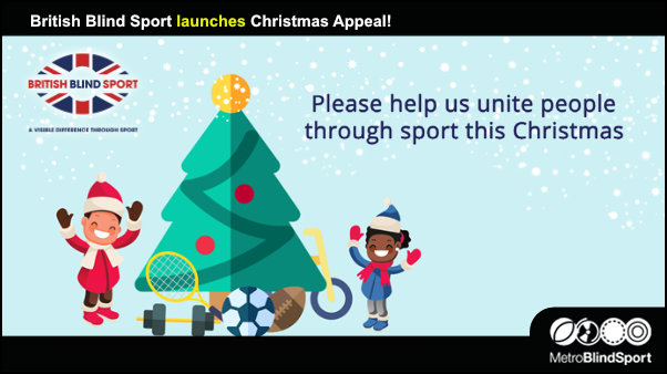British Blind Sport launches Christmas Appeal!