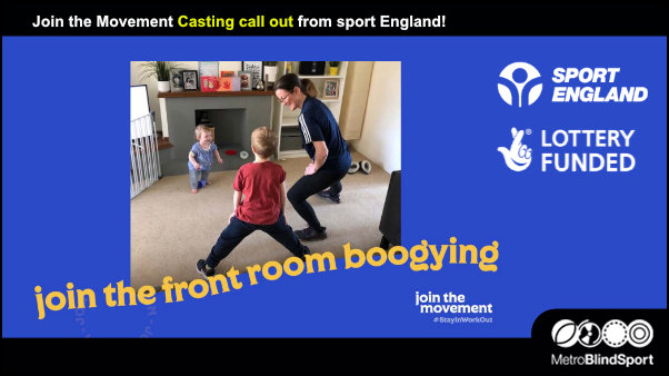 Join the Movement Casting call out from sport England!