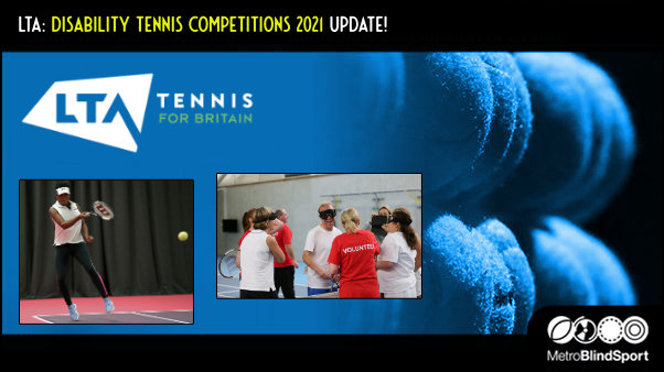 LTA: Disability Tennis Competitions 2021 Update!