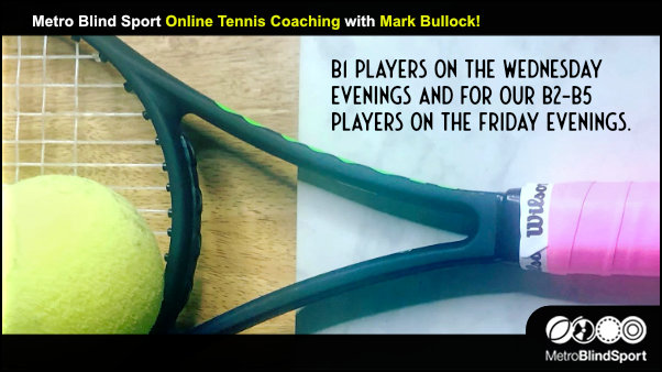 Online Tennis coaching with Mark Bullock