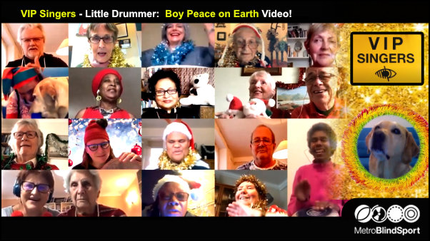 VIP Singers Video- Little Drummer Boy: Peace on Earth!