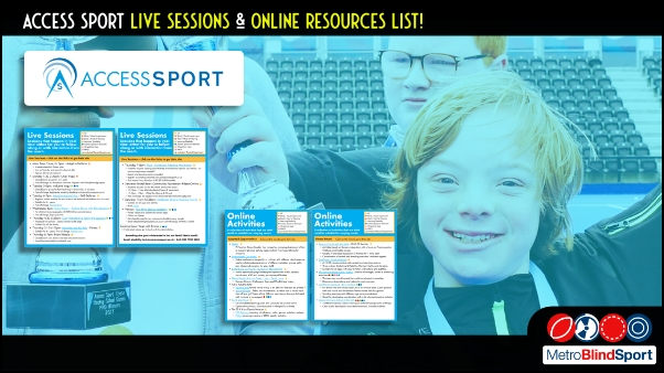 Access Sport Live Sessions and Online Resources List