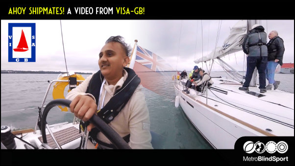 A video about blind and partially sighted sailing from visa-gb!
