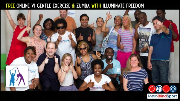 Free Online VI Gentle Exercise & Zumba with Illuminate Freedom
