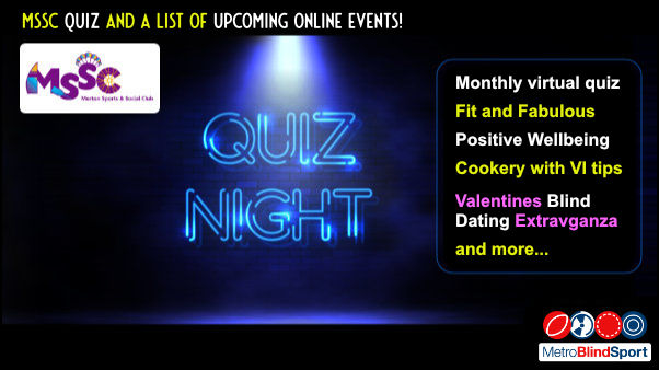MSSC Quiz and a list of Upcoming Online Events!