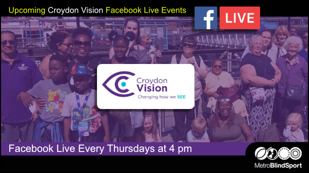 Upcoming Croydon Vision Facebook Live Events