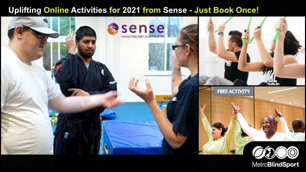 Uplifting Online Activities for 2021 from Sense - Just Book Once!
