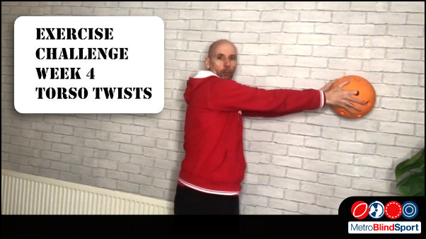 The Exercise Challenge this week is Torso Twists