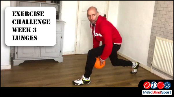 The Exercise Challenge this week is lunges