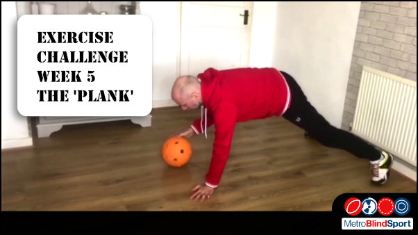 The Exercise Challenge this week is the Plank
